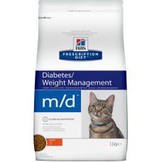 Hill's Prescription Diet Feline Diabetes/Weight Management m/d Chicken