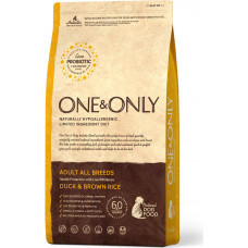 One&Only Dog Aduit All Breeds Duck & Brown Rice