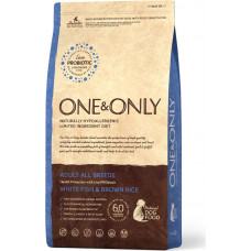 One&Only Dog Adult All Breeds White Fish & Brown Rice