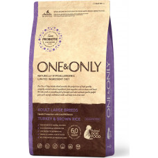 One&Only Dog Adult Large Breeds Turkey & Brown Rice