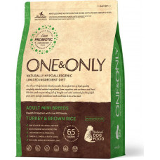 One&Only Dog Adult Mini Breeds Turkey & Brown Rice