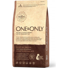 One&Only Dog Adult All Breeds Rabbit & Brown Rice