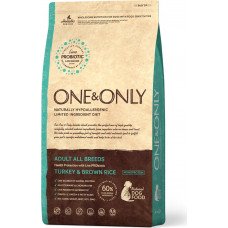 One&Only Dog Adult All Breeds Turkey & Brown Rice