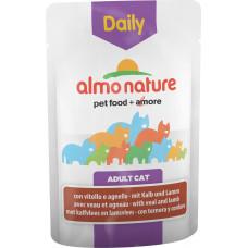 Almo Nature Adult Cat Daily Menu Veal & Lamb 70 г