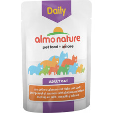 Almo Nature Adult Cat Daily Menu Chicken & Salmon 70 г