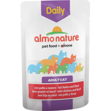 Almo Nature Adult Cat Daily Menu Chicken & Beef 70 г