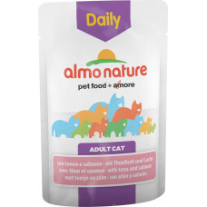 Almo Nature Adult Cat Daily Menu Tuna & Salmon 70 г