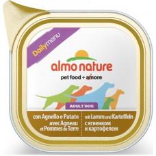 Almo Nature Dog Daily Menu - Lamb with Potatoes
