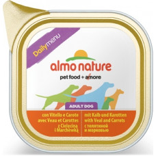 Almo Nature Dog Daily Menu - Veal and Carrots