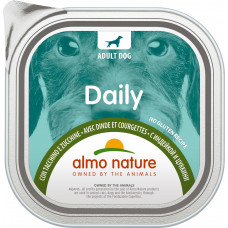 Almo Nature Dog Daily Menu - Turkey and Courgette