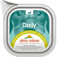 Almo Nature Dog Daily Menu - Chicken with Pease
