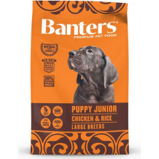 Banters Puppy Junior Large Chicken & Rice