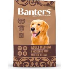 Banters Dog Adult Medium Chicken & Rice