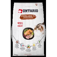 Ontario Senior Sterilized 7+ Chicken & Salmon