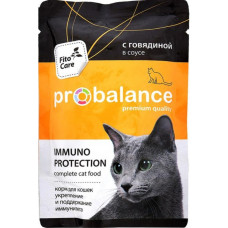 ProBalance Cat Immuno Protection Beef Pouch