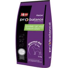 ProBalance Dog Gourmet Diet Adult Beef & Rabbit
