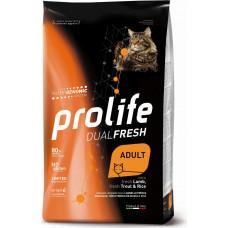 Prolife Dual Fresh Adult Cat Lamb, Trout&Rice