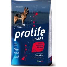 Prolife Smart Adult Dog Medium/Large Beef&Rice