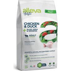 Alleva Holistic Adult Dog Chicken & Duck + Aloe vera & Ginseng Maxi