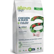 Alleva Holistic Adult Dog Chicken & Duck + Aloe vera & Ginseng Medium