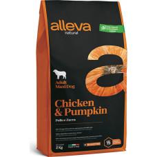 Alleva Natural Adult Dog Chicken & Pumpkin Maxi
