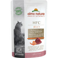 Almo Nature Adult Cat HFC Tuna Fillet with Shrimps 55 г