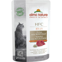 Almo Nature Adult Cat HFC Tuna with Whitebait 55 г