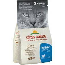 Almo Nature Adult Cat Holistic Sterilised Fresh Salmon&Rice