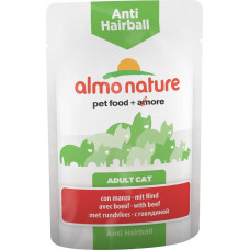 Almo Nature Adult Cat Anti Hairball Beef
