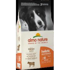 Almo Nature Adult Dog Holistic Medium Fresh Beef