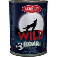 Berkley Dog Wild Boar & Parsnip, Leek, Forest Berries
