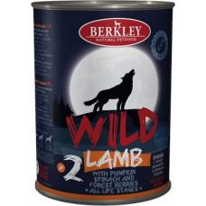 Berkley Dog Wild Lamb & Pumpkin, Spinach, Forest Berries