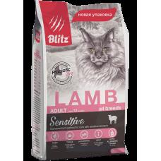 Blitz Sensitive Adult Cats Lamb