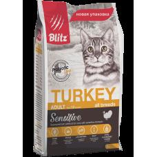 Blitz Sensitive Adult Cats Turkey