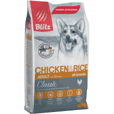 Blitz Classic Adult Dogs Chicken & Rice All Breeds