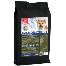 Blitz Holistic Adult Dogs Salmon & Trout All Breeds Grain Free