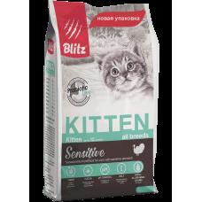 Blitz Sensitive Kitten All Breeds