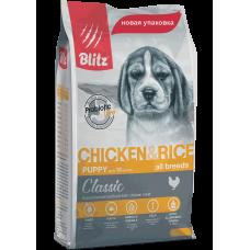 Blitz Classic Puppy Chicken & Rice All Breeds