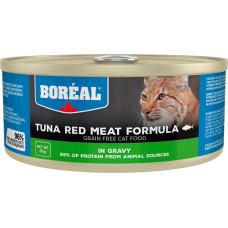 Boreal Cat Tuna Red Meat Formula in gravy