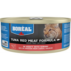 Boreal Cat Tuna Red Meat Formula with Shrimp in gravy