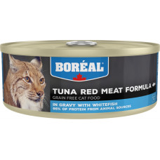 Boreal Cat Tuna Red Meat Formula with Whitefish in gravy