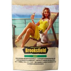 Brooksfield Cat Adult Chicken & Broccoli in jelly