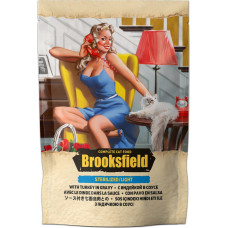 Brooksfield Cat Sterilized/Light Turkey in gravy