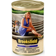 Brooksfield Dog Adult  All Breeds Beef & Lamb Can