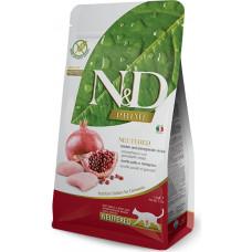 Farmina N&D Prime Neutered Cat Chicken&Pomegranate