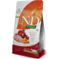 Farmina N&D Pumpkin Adult Neutered Cat Quail&Pomegranate