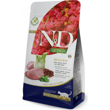 Farmina N&D Quinoa Adult Cat Digestion Lamb