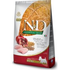 Farmina N&D Ancestral Adult Dog Mini Chicken&Pomegranate