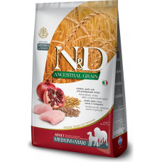 Farmina N&D Ancestral Adult Dog Medium&Maxi Chicken&Pomegranate