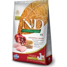 Farmina N&D Ancestral Adult Dog Medium&Maxi Light Chicken&Pomegranate